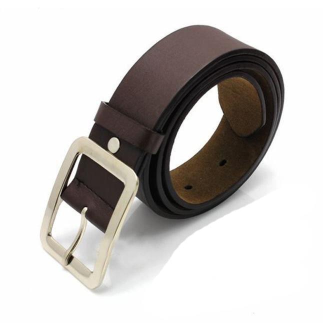 Casual Faux cuir pour hommes boucle de ceinture sangle de ceinture Ceintures 7626a525066