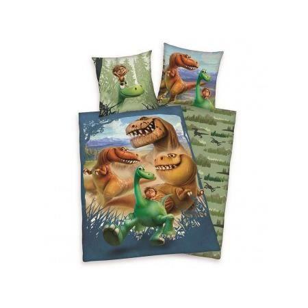 parure de couette arlo dinosaure achat vente parure de couette cdiscount. Black Bedroom Furniture Sets. Home Design Ideas