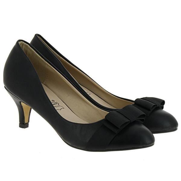 Escarpins Coralie, noir