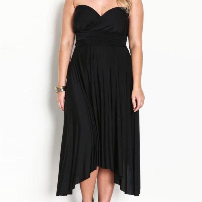 robe de soiree grande taille achat vente robe de soiree grande taille pas cher cdiscount. Black Bedroom Furniture Sets. Home Design Ideas