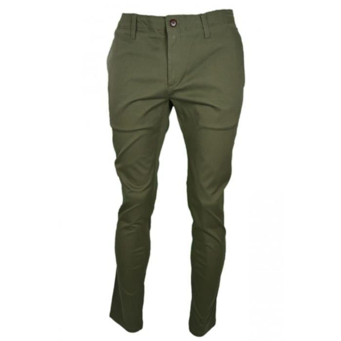130562183 Chino Tommy Hilfiger Dénim vert kaki pour homme - Couleur: Vert - Taille:  W32 - Longueur: 32