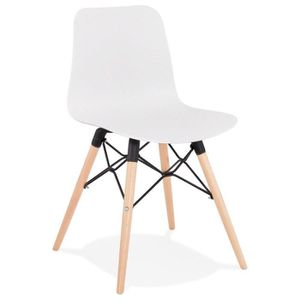 CHAISE HO - Chaise scandinave blanche design