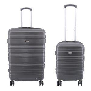 SET DE VALISES Lot de 2 valises Extensible, valise cabine et vali