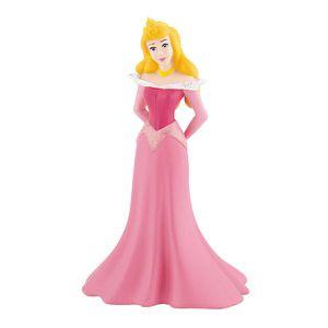 FIGURINE - PERSONNAGE Mini figurine Princesse Aurore sur oreiller trésor