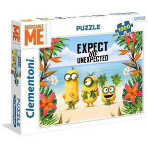 PUZZLE MINIONS Puzzle 1000 pièces Clementoni