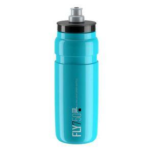GOURDE Elite 0160704, Vélo, 750 ml, Bleu, Plastique, Adul