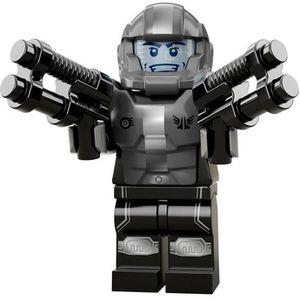 ASSEMBLAGE CONSTRUCTION LEGO MINIFIGURINE le soldat galactique série 13