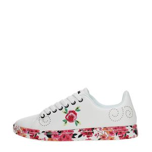 BASKET Desigual Sneakers Femme WHITE, 36