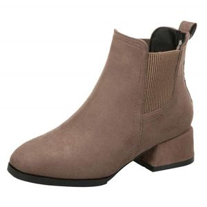 SLIP-ON Boot Shaper,Bottines Femme Femmes Fille Bottes Cac
