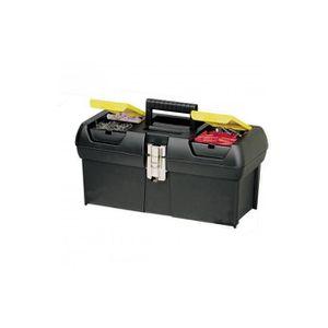 LOT OUTILS DE JARDIN Superbe Stanley boîte à outils 16 pouces avec p...