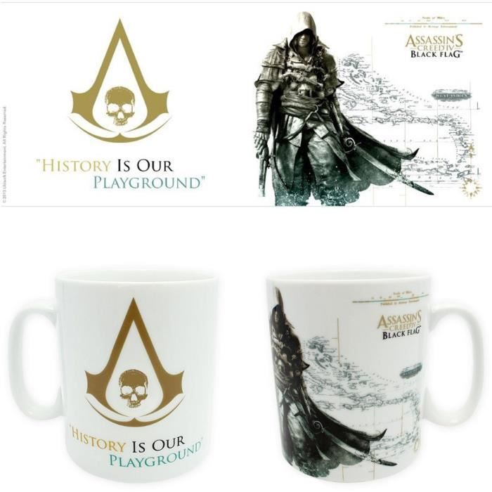 ABYSTYLE Mug Assassin'S Creed: History Is Our Playground