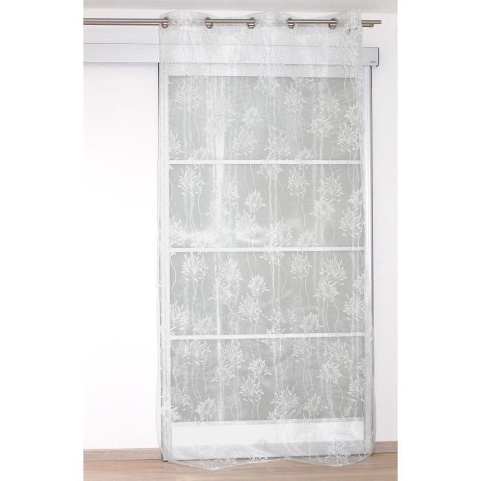 Matière : 100% polyester - Dimensions : 140x240 cm - Coloris : naturelVOILE - VOILAGE