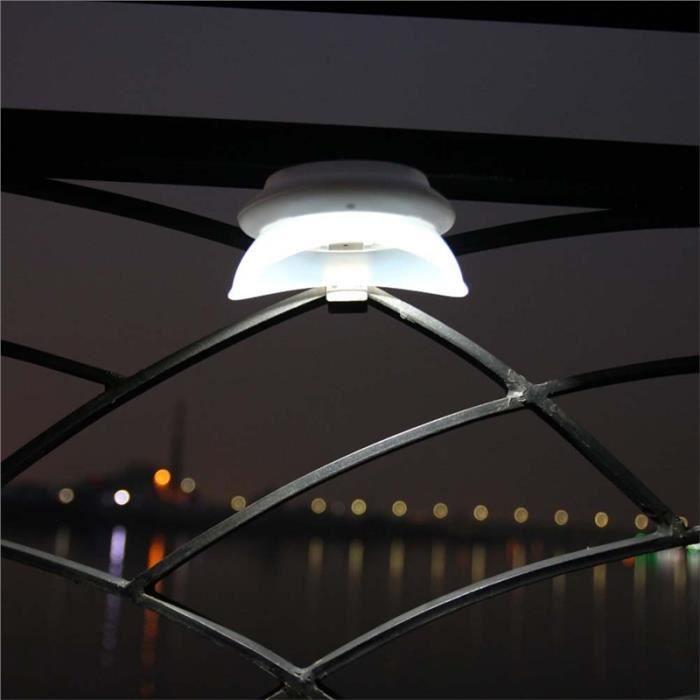 À Poussière Lampe Led Lumière Applique Étanche Murale Solaire Mur Anti D'extérieur Automatique doBCxe