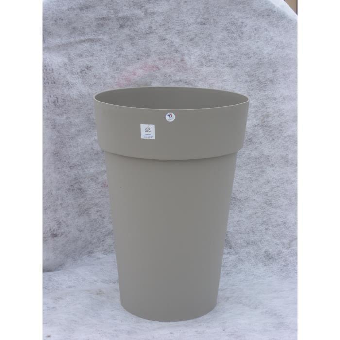 Vase toscane diam 46 hauteur 65 moka achat vente for Jardiniere hauteur 1 metre