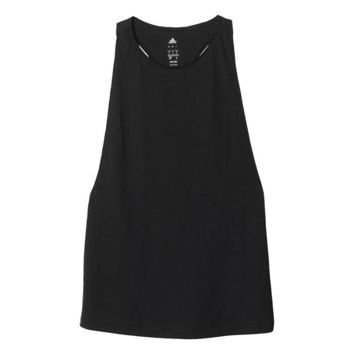 dc45607b57e20 Débardeur - Débardeur performer adidas Noir - Achat   Vente t-shirt ...
