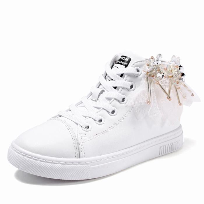 baskets Enfants Chaussures filles Loisirs Chaussures de sport