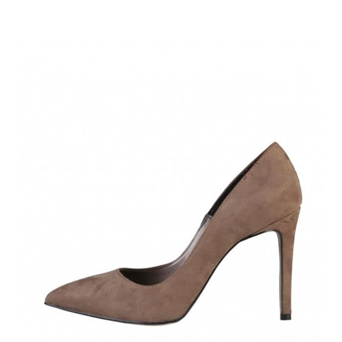 Made In Italie - Chaussures Monica taupes -Tacyoacute;n de 10cm