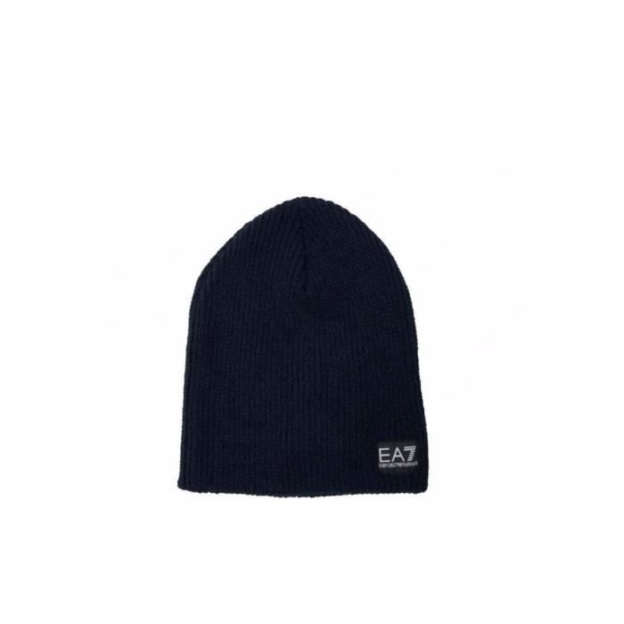 Bonnet EA7 Emporio Armani - Ref. 275718-7A394-02836 Bleu Bleu ... 3a838318767