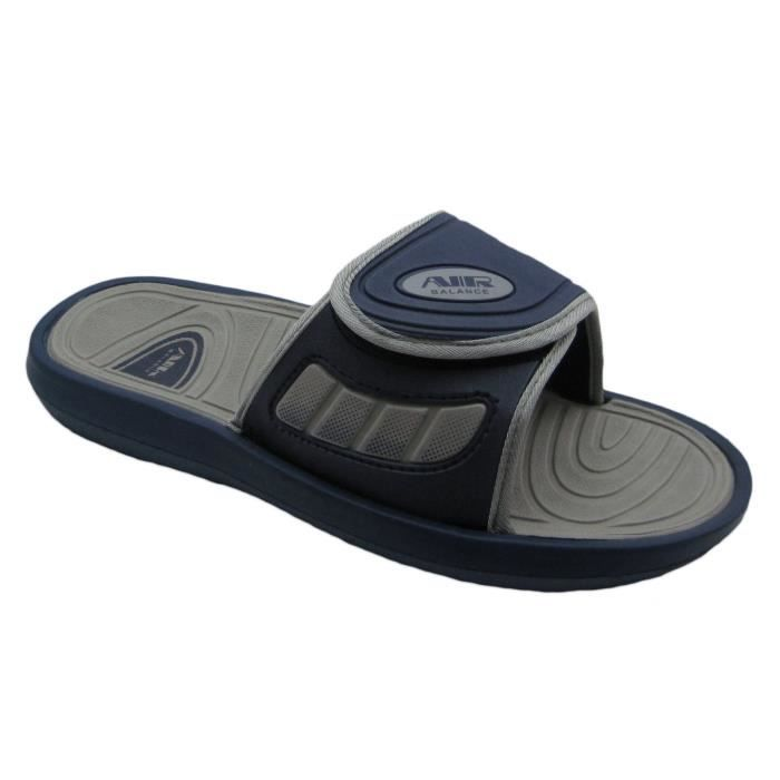 Air Men's Comfortable Shower Beach Sandal Slippers W-adjustable Strap In Classy Colors L49R4 Taille-46 vaMl2bVi