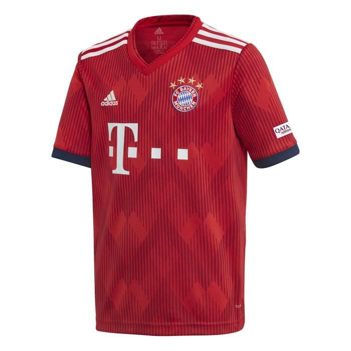 2147072f7c3 Maillot domicile junior FC Bayern Munich 2018 19 - Prix pas cher ...