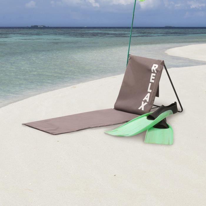 matelas de plages avec dossier achat vente jeux et jouets pas chers. Black Bedroom Furniture Sets. Home Design Ideas