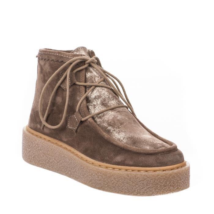 Boots femme - GAIMO - Beige - OLLIE - Millim