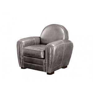 fauteuil club en cuir vieilli baudoin gris Résultat Supérieur 50 Unique Petit Fauteuil Club En Cuir Photographie 2017 Kgit4