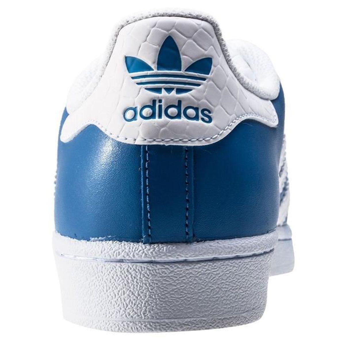 check out d83df 960db Bleu Achat Homme Superstar Adidas Moda Vente S75881 Basket wqXIWBS