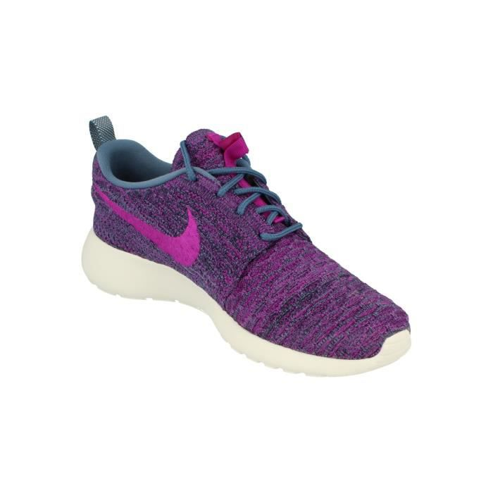 Nike Femmes Rosherun Flyknit Running Trainers 704927 Sneakers Chaussures vYPN4