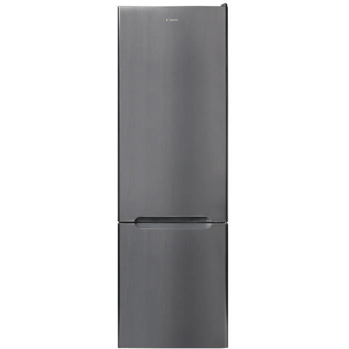 CANDY CSET5174X - Réfrigérateur congélateur bas - 262 L (200 L + 62 L) - Froid statique - A++ - L 55