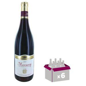VIN ROUGE CLUB DES SOMMELIERS Mercurey - 2015 - Vin Rouge -