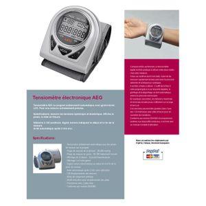 TENSIOMETRE Tensiomètre digital AEG BMG4906 conforme norme …