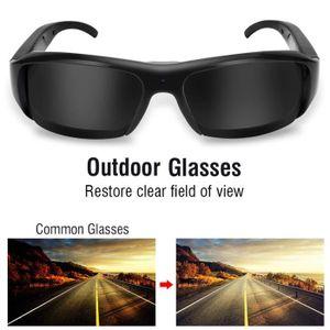 Caméscope vidéo d appareil photo rechargeable lunettes de caméra soleil avec  USB de sports de plein air 1080P HD-DBA a84038819cff
