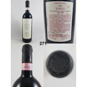 VIN ROUGE Barolo - Cannubi - Tenuta Carretta 2001 - N° : 271