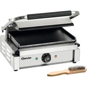 GRILL ÉLECTRIQUE Grill professionnel  Panini  plaques lisse