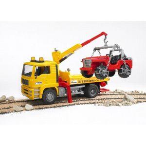 VOITURE - CAMION BRUDER - 2750 - Camion Depannage Man + Portique Et