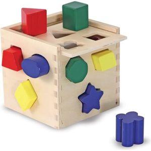 CUBE ÉVEIL MELISSA & DOUG Cube De Tri De Formes
