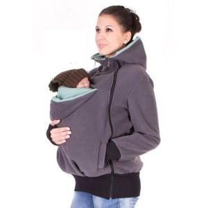 PORTE BÉBÉ yida-world® Porte-bébé Veste Kangaroo Hiver Mat. cef8c2ca7b1