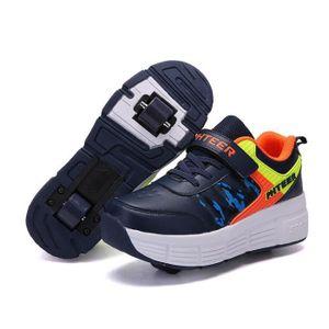 BASKET Mode Baskets Enfants Chaussures à Roulettes Garons
