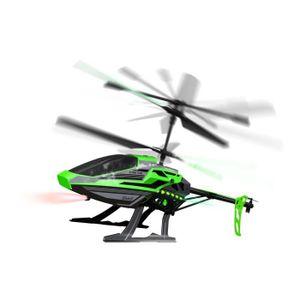 VAISSEAU SPATIAL SILVERLIT Hélicoptère Télécommandé Noir et Vert -