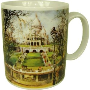 BOL - MUG - MAZAGRAN Souvenirs de France - Mug Paris Sacré Coeur 9f9a9056c9b