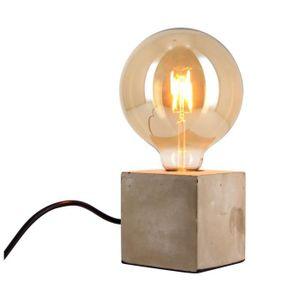 Lampe A Poser Avec Ampoule Vintage Achat Vente Pas Cher