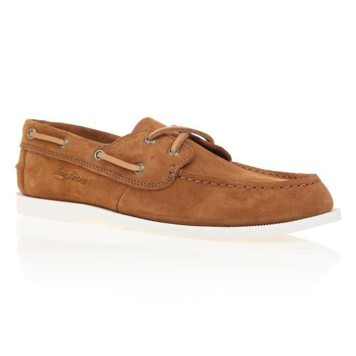HELLY HANSEN Chaussures Bateau Femme Deck Classic - Marron