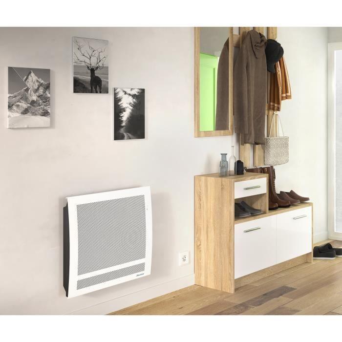 SAUTER Sundoro 750 watts Radiateur Panneau Rayonnant - Programmation LCD - Détecteur Présence & Fenêtre ouverte