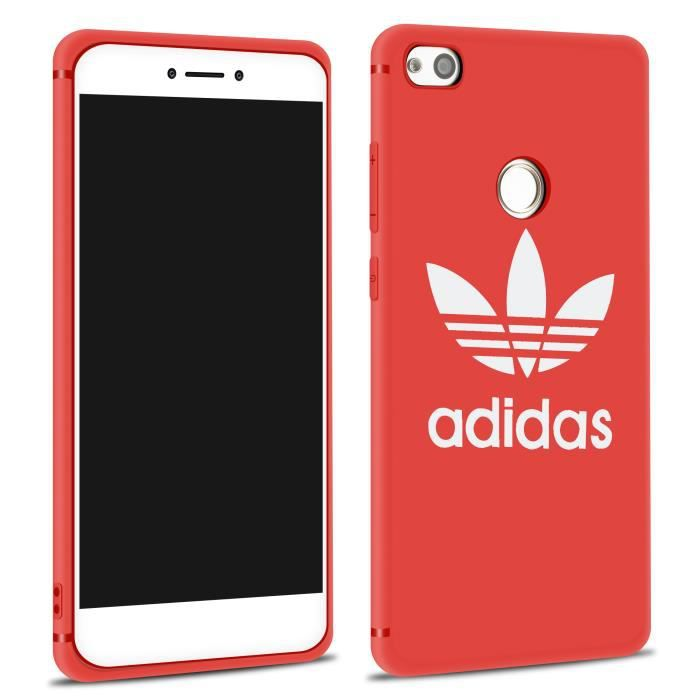 coque huawei p8 lite 2017 silicone rouge