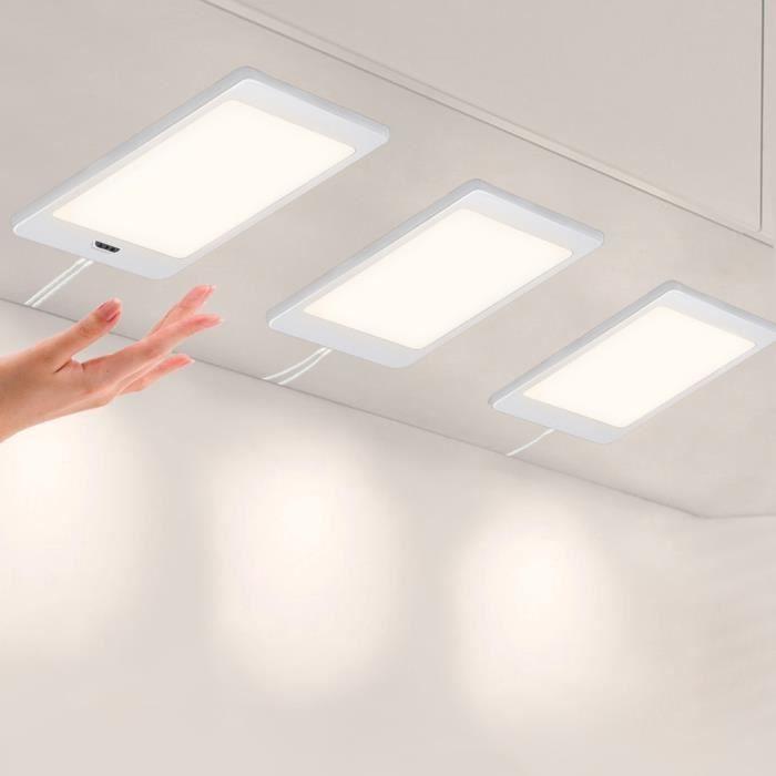 Lampes de panneau eclairage a led pour sous meuble de cuisine avec interrupteur de capteur de - Eclairage sous meuble cuisine led ...