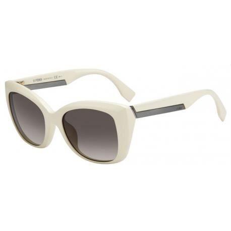 Achetez Lunettes de soleil Fendi Femme FF 0019 S BMN (HA), couleur ivoire be118cad65a8