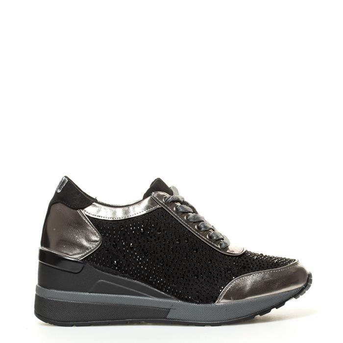 BASS3D by Xti - Alina Chaussures de plomb coin -Hauteur: 6cm