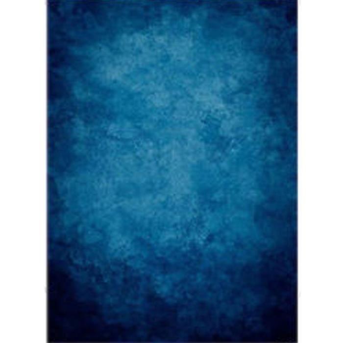 Neufu 1 5x2 1m Toile De Fond Bleu Fonce Backdrop Tissu Pour