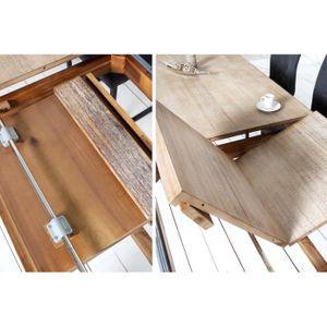 Table a manger bois blanc Achat Vente pas cher